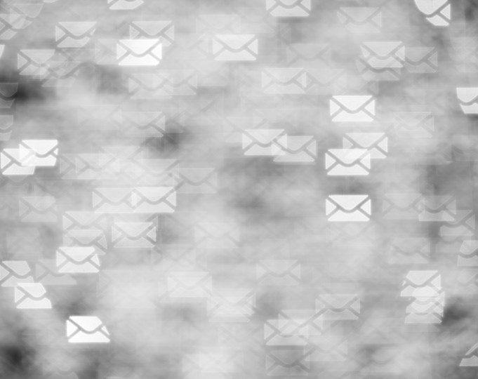 Letters concept