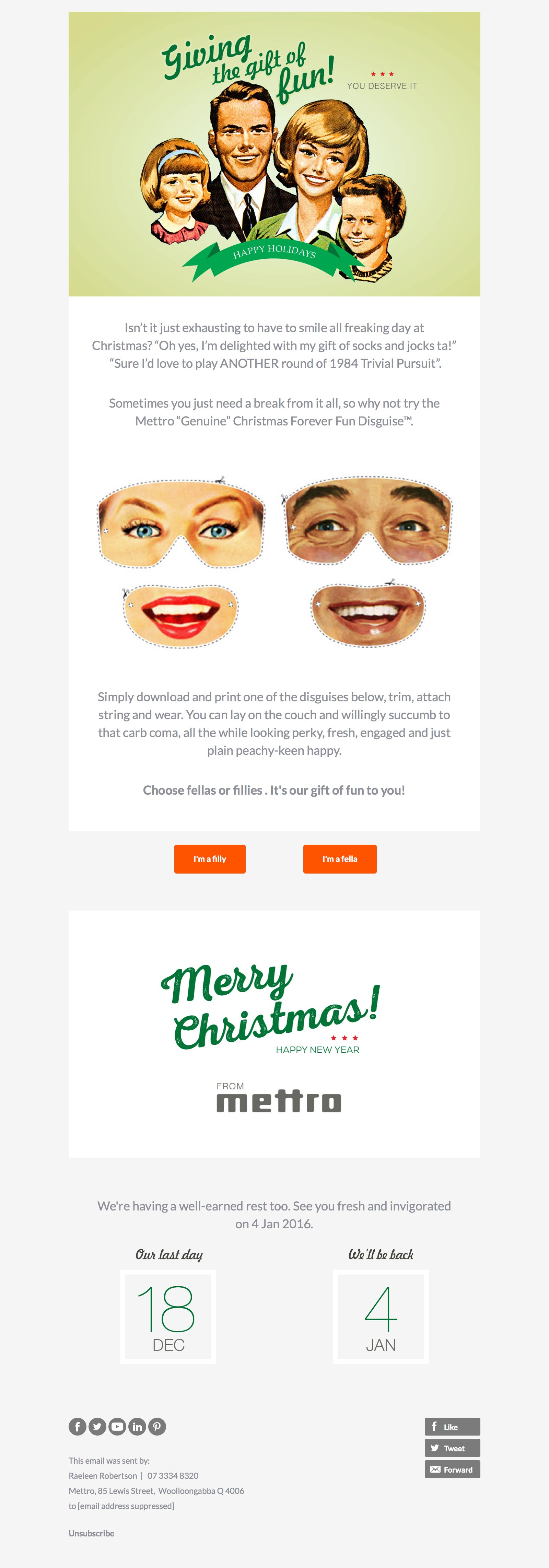 mettro-christmas-email