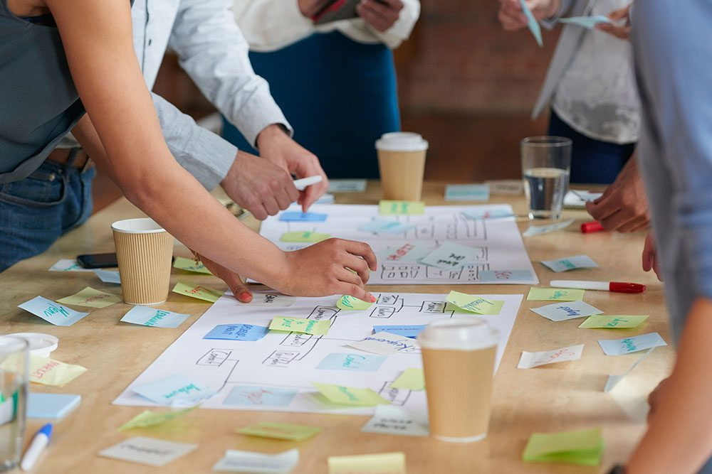 strategy-post-it-sitemap