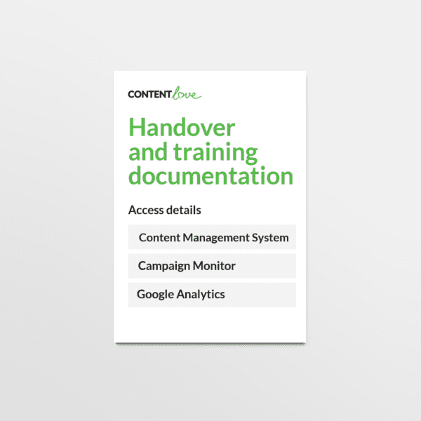 cl-product-handover-and-training-documentation