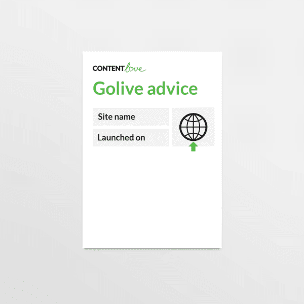 cl-product-website-golive-advice