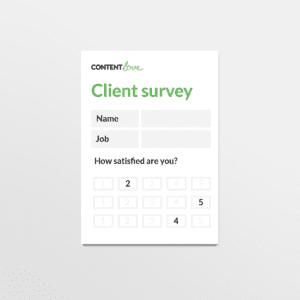 cl-product-client-survey