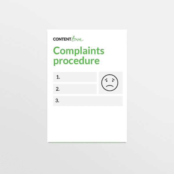 cl-product-complaints-proceedure