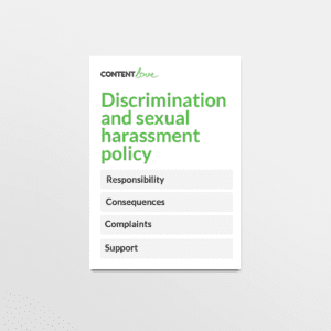 cl-product-discrimination-and-sexual-harassment-policy