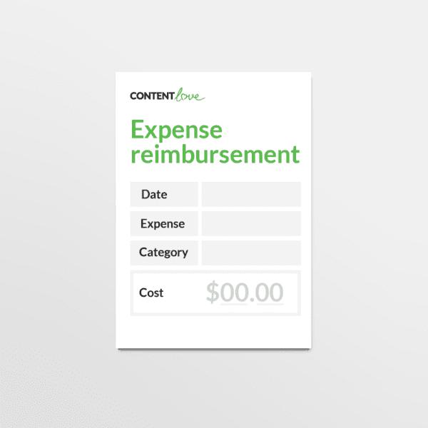 cl-product-expense-reimbursement