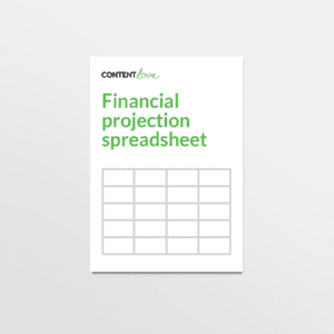 cl-product-financial-projection-spreadsheet