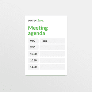 cl-product-meeting-agenda
