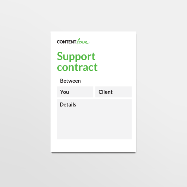 cl-product-support-contract